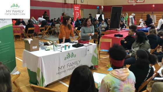 East High School Career Expo Students Akron