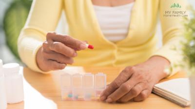 Medication Management Tips for Seniors Ensure Elderly Loved One Takes Medication