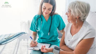 home health nurse vs home health aid